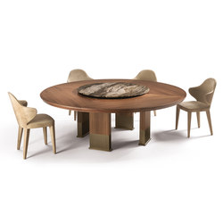 Edward | Dining tables | Longhi S.p.a.