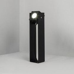 Cube XL | Tower 40cm 40° black | Outdoor wall lights | Dexter