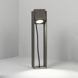 Cube XL | Tower 40cm 40° grey | Outdoor wall lights | Dexter