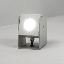 Cube XL | Tower 12cm 40° natural anodized | Outdoor wall lights | Dexter