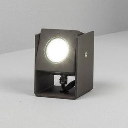 Tower 12cm 40° grey | Outdoor wall lights | Dexter