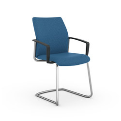 F2 Cantilever Visitor Chair | Chairs | Viasit