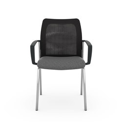 F2 Four-Legged Visitor Chair | Chairs | Viasit