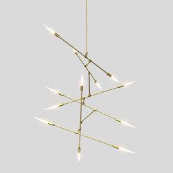 Dawn 12v | Suspended lights | Matthew McCormick Studio