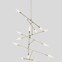 Dawn 14v | Suspended lights | Matthew McCormick Studio
