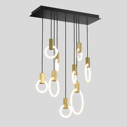 Halo C9l m | Suspended lights | Matthew McCormick Studio