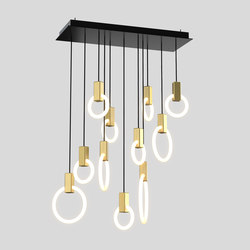 Halo C11l m | Suspended lights | Matthew McCormick Studio