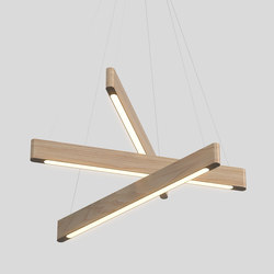 Line Light 404040 x | Suspended lights | Matthew McCormick Studio