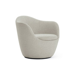Lína Swivel Chair | Armchairs | Design Within Reach