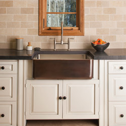 Copper/Stainless Farmhouse Sink | Kitchen sinks | Stone Forest