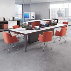 Grand More | Sharing Meeting Table | Tables collectivités | Estel Group
