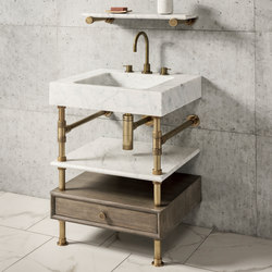 "Terra Bath Vanity With Storage, 24""W 