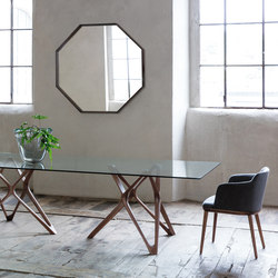 Circe rettangolare | Dining tables | Porada