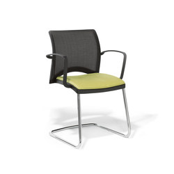 Linea Cantilever Visitor Chair | Chairs | Viasit