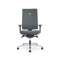 Linea Task Chair upholstered backrest | Office chairs | Viasit