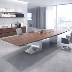 Niemeyer | Meeting Table | Mesas contract | Estel Group