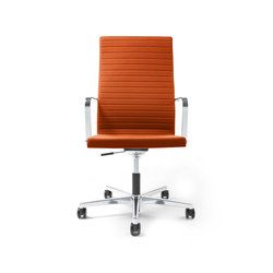 Pure Swivel chair High Backrest | Sedie ufficio | Viasit