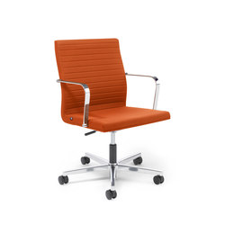 Pure Swivel chair Low Backrest | Office chairs | Viasit