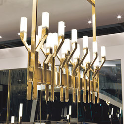 Narita | Suspended lights | Longhi S.p.a.