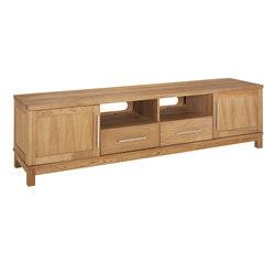 Inzel mediabench 210cm oak oiled | Multimedia sideboards | Hans K