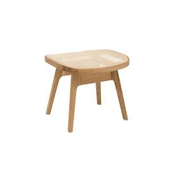 Racquet footstool oak oiled | Sgabelli | Hans K
