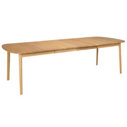 Rainbow table 162(48+48)x100cm oak oiled | Dining tables | Hans K