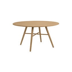 San Marco table round 140 cm oak oiled | Dining tables | Hans K