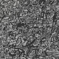 Plain Doodle Cinder | Ceramic tiles | Refin