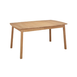 Verona table ellipse 160(48+48)x102cm oak oiled | Dining tables | Hans K