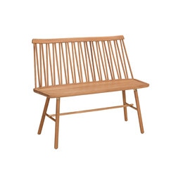 ZigZag bench oak oiled | Bancs | Hans K