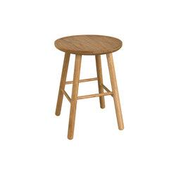 ZigZag stool 47cm oak oiled | Stools | Hans K