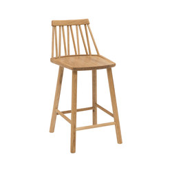 ZigZag junior chair oak oiled | Bar stools | Hans K