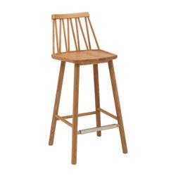 ZigZag barchair 63cm oak oiled | Bar stools | Hans K