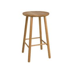 ZigZag barstool 63cm oak oiled | Bar stools | Hans K