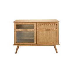 ZigZag sideboard 110cm oak oiled | Aparadores | Hans K