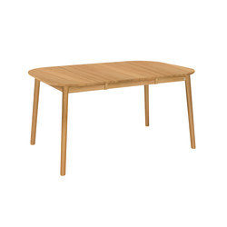 ZigZag table square 102(52)x102cm oak oiled | Tables de repas | Hans K