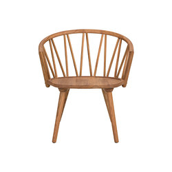 ZigZag lounge chair oak oiled | Chairs | Hans K