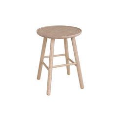 ZigZag stool 47cm ash blonde   Stools   Hans K