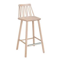 ZigZag barchair 63cm Ash Blonde   Bar stools   Hans K