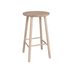 ZigZag barstool 63cm Ash Blonde | Bar stools | Hans K