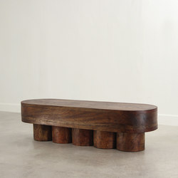 Colonnade Bench Table | Tables basses | Pfeifer Studio
