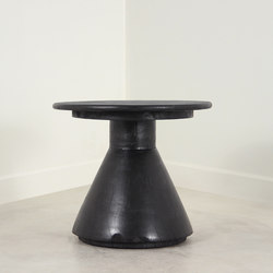 Cordova Turned Wood End Table | Mesas auxiliares | Pfeifer Studio