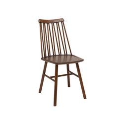 ZigZag chair ash espresso | Chairs | Hans K