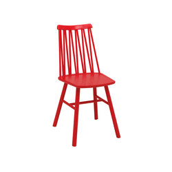 ZigZag chair elm red | Chairs | Hans K