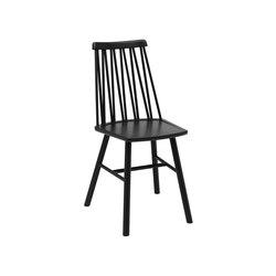 ZigZag chair Ash Black | Chairs | Hans K
