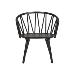 ZigZag lounge chair ash black | Sillones | Hans K