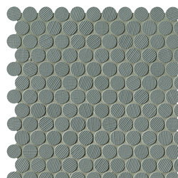 Milano&Wall Salvia Round Mosaico | Ceramic mosaics | Fap Ceramiche