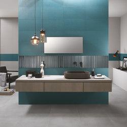 Milano&Wall Blu | Ceramic tiles | Fap Ceramiche