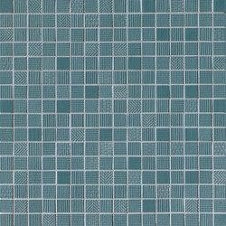 Milano&Wall Blu Mosaico | Ceramic mosaics | Fap Ceramiche