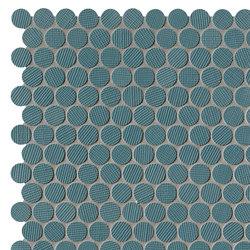 Milano&Wall Blu Round Mosaico | Mosaicos de cerámica | Fap Ceramiche